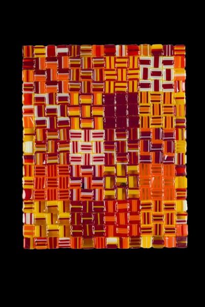 "Fall Harvest Cube - 8""w x 10""h"
