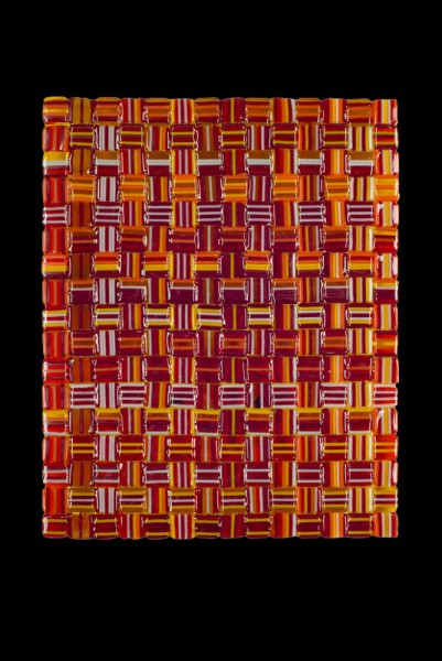 """Fall Harvest Weave - 8""""w x 10""""h"""