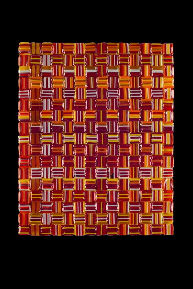 "Fall Harvest Weave - 8""w x 10""h"