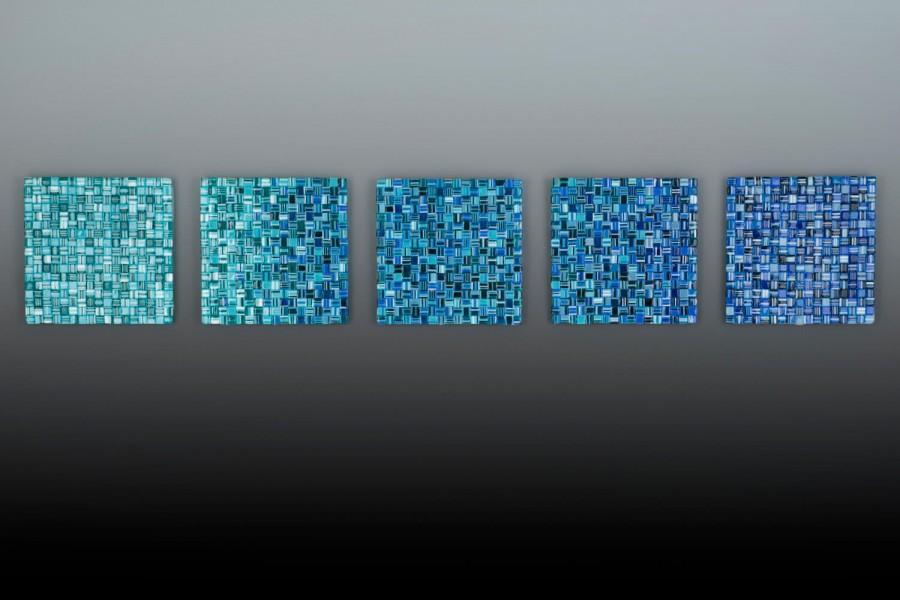 "Interfuse II – 10"" x 10"" ea panel (sold)"