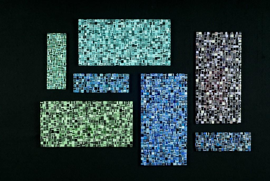 """Metamorphosis II - 45""""w x 32""""h (sold)"""