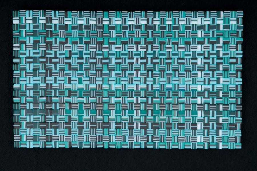 "Wintergreen Weave Commission – 20""w x 12""h"