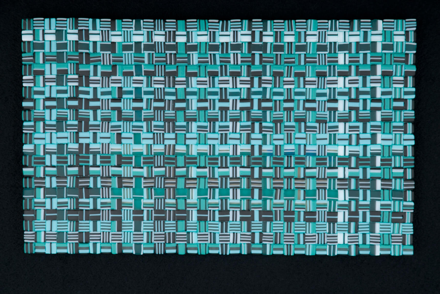 "Wintergreen Weave Commission – 20""w x 12""h"