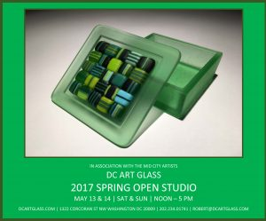 2017 MCA Spring Open Studios May 13 and 14 tpj