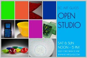 2017_06_16 DCAG Weekend Open Studio Poster Small Atpj